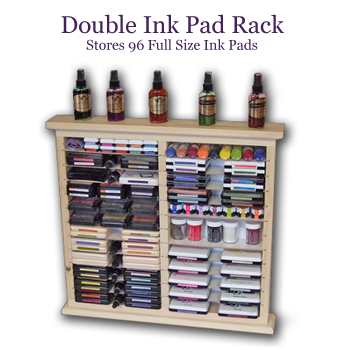 Ink Pad Storage Rack - Double Size
