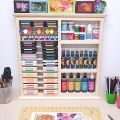 Multi Craft Rack - Double Size with Ink Pad Rack
